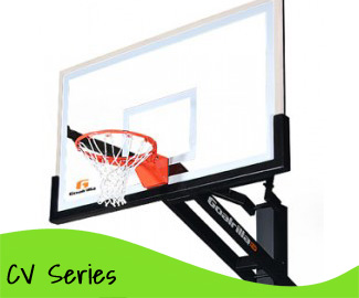Clear View In-Ground Basketball Hoops