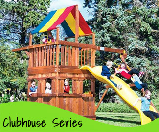 Clubhouse Rainbow Play Systems